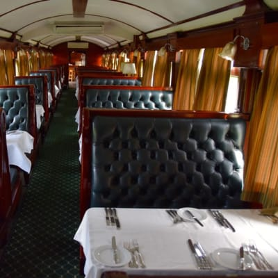 Dinner Train Royal Livingstone image