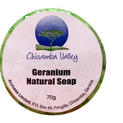 Geranium Natural Soap 70g  image