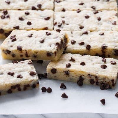 Tansi Kitchen - Chocolate Chip Shortbread image