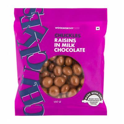 Chuckles Raisins In Milk Chocolate image