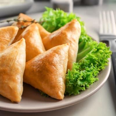 Tapas Style Small Dishes - Samoosas image