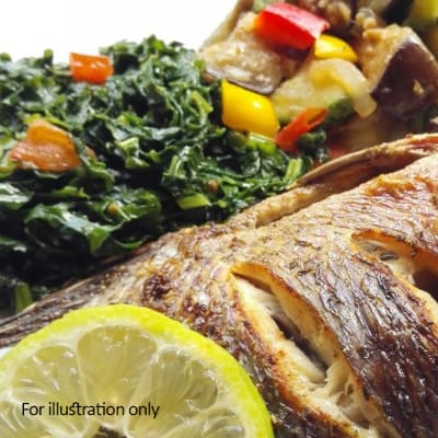 Zambian Fusion Dishes - Traditional Zambezi Bream image