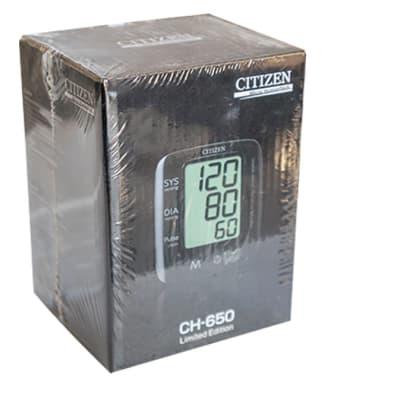 Citizen - CH 650 digital blood pressure monitor black image