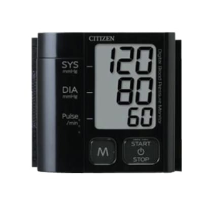 Citizen - CH 657 digital blood pressure monitor Black image