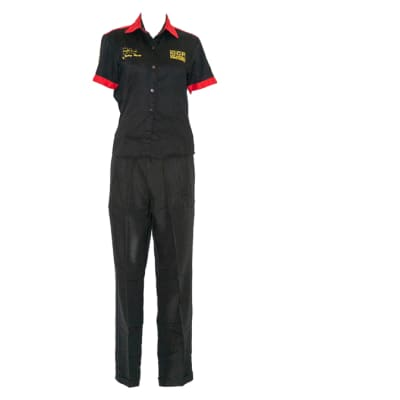Corporate Shirt and Black Trouser image