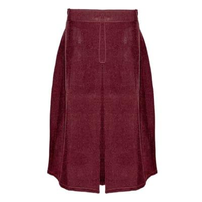 Girls Red Secondary School Skirt image