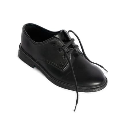 Smart Steps - Boys Black School Shoes image