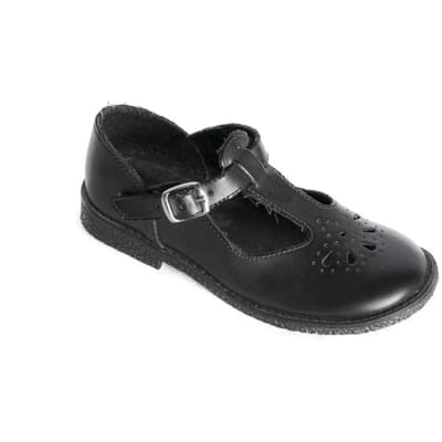 Smart Steps - Girls Black School Shoes image