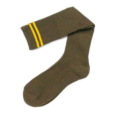 Brown with Yellow Stripes Stockings  image