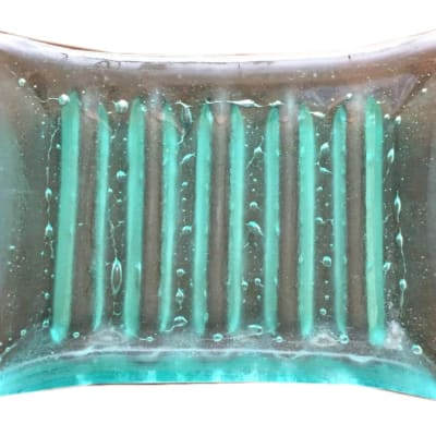 Clear glass New style soap dish image