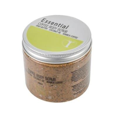 Coffee Body Scrub - Shea Butter, Coconut Oil, Arabica Coffee image