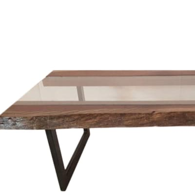 Coffee Tables - Log Glass coffee table image
