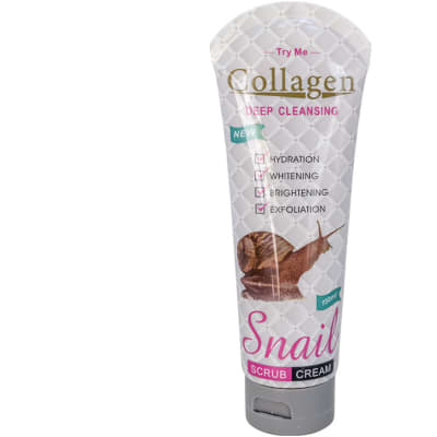 Collagen Snail  Deep Cleansing Facial Scrub Cream  100ml image