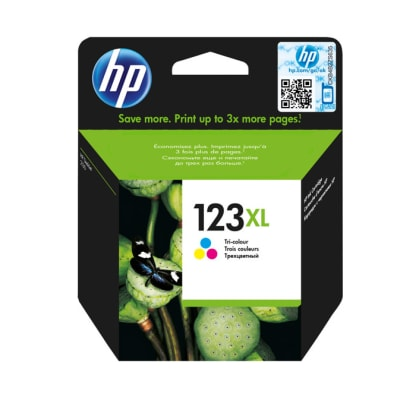 Printer Toner Cartridges - Hewlett Packard HP 123XL Multi Colour Toner Cartridge image