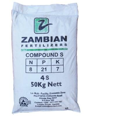 Basal Dressings S Compound  Fertilizer - 10kg image