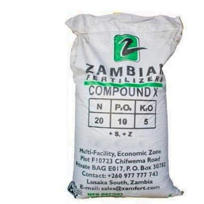 Basal Dressings Compound X  Fertilizer - 50kg image