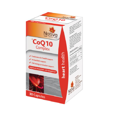 Coq10 Complex Cell Energy Support Absorption of Coenzyme Q10 image
