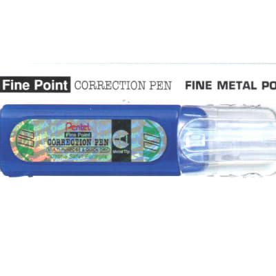 Correction Pens & Tape - ZLC31-W Fine Point Correction Pen Fine Metal Point  image