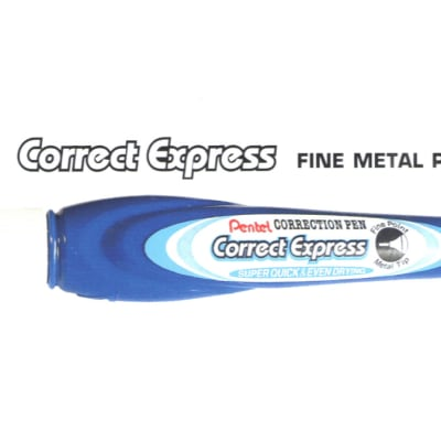 Correction Pens & Tape - ZLE52-W Correct Express Fine Metal Point image