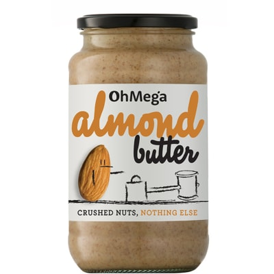 Ohmega Almond Butter  Crushed Nuts, Nothing Else 400g image