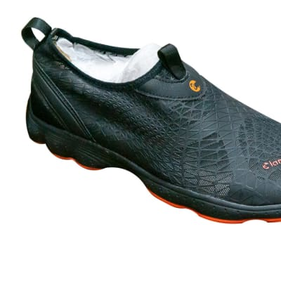 Crocs Flamingo Light Weight Lace less Black Sneakers image