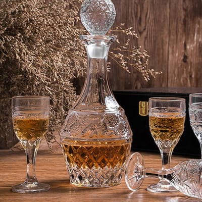 Crystal Glass Creative Whiskey Cup Persian Style - Chalice image
