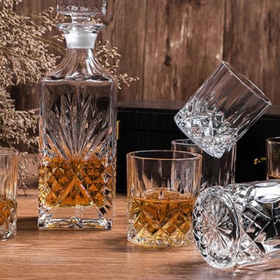 Crystal Glass Creative Whiskey Cup Persian Style - Crystal glass image