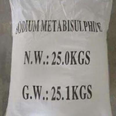 Sodium Metabisulphite (SMBS) image