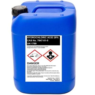 Hydrochloric Acid 28% image