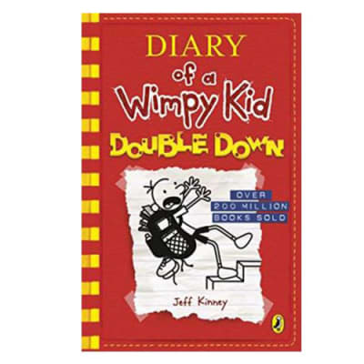 Diary of a Wimpy Kid  Double down  Book 11  image