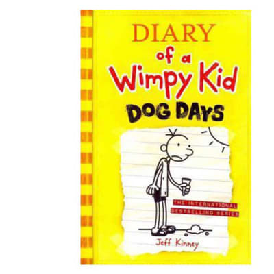 Diary of a Wimpy Kid  Dog Days Book 4  image