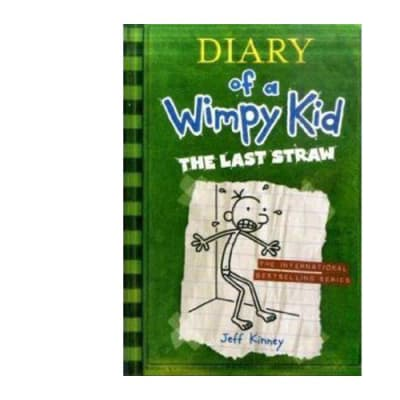 Diary of a Wimpy Kid the Last Straw  Book 3  image