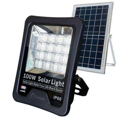 Solar Floodlight  with Solar Panel 100 Watts  image