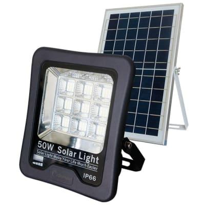 Solar Floodlight with Solar Panel 50 Watts image