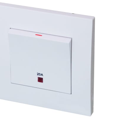 Water Heater, Air Conditioner Switch  Sirim Tested and Approved  20a 250v image