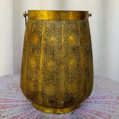Fine Patterned Brass Vase image