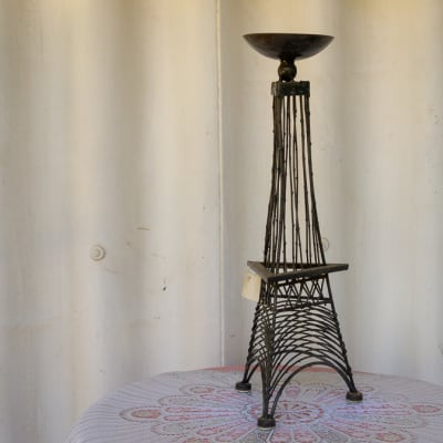 Eiffel Tower Candle Holder image