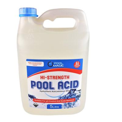 Aquacure Hi-Strength pool acid 5 litre image