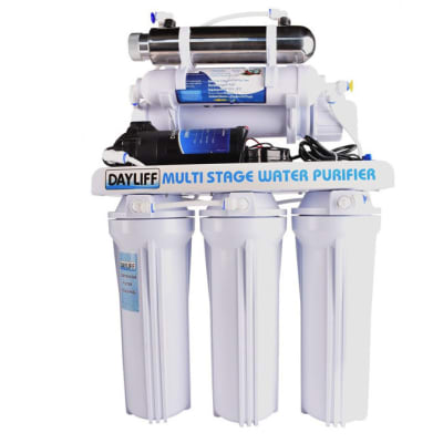 Domestic reverse osmosis water treatment plant image