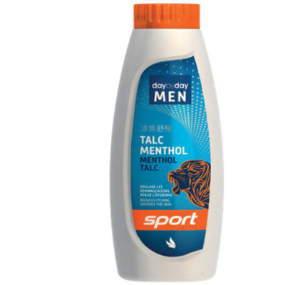 Day by Day Men Sport - Menthol Talc Powder image
