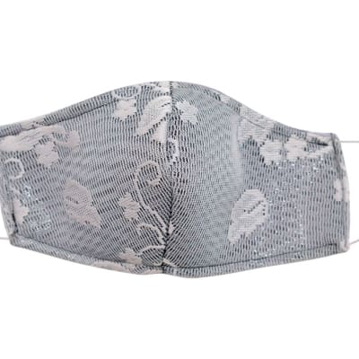 Respirators & Masks  - Decorated reusable face masks - Grey image