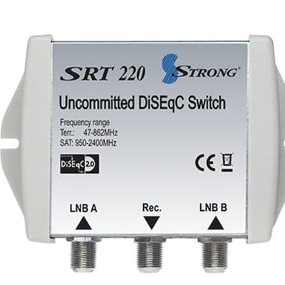 Digital Satellite Equipment Control - DiSEqC switch SRT 220 image