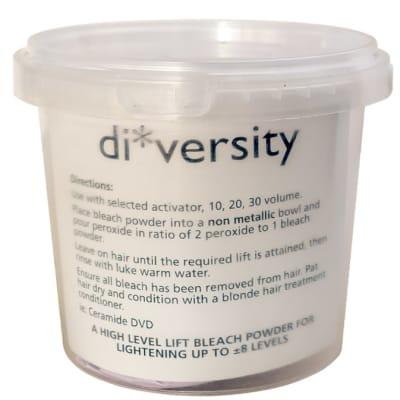 Di Versity High Level Lift Hair Bleach Powder  500g image