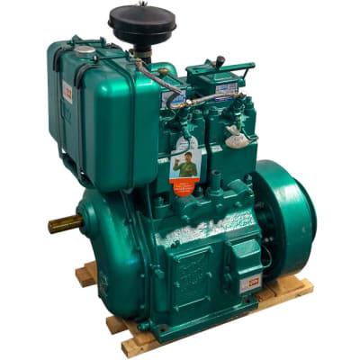 Double Piston Diesel Engine image
