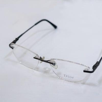 Dior Rimless Eyeglass Frames image