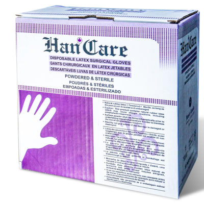 HanCare - Disposable Latex Surgical Gloves image