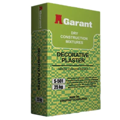 Dry Construction Mixtures - Decorative Plaster image