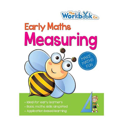 Early Maths  Measuring Application-Based Learning Practice Work Book  for Young Learners image