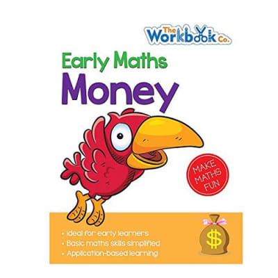 Early Maths  Money Application-Based Learning Practice Work Book  for Early Learners image