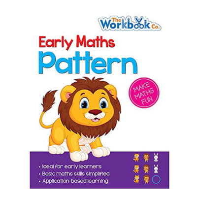 Early Maths  Pattern  Practice Work Book for Pre-School & Early Learners image